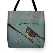 Baby Bird Tote Bag by Ginny Youngblood