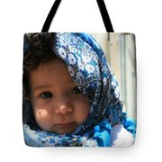 Baby Blues Jerusalem Tote Bag