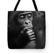 Baby Bonobo Tote Bag