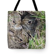 Baby Bunnies Tote Bag