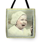 Baby Cries Tote Bag