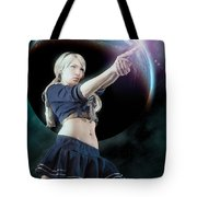 Baby Doll Shoots Back Tote Bag