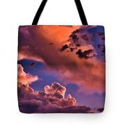 Baby Dragon's Fledgling Flight Tote Bag