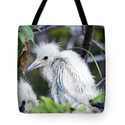 Baby Egret Tote Bag