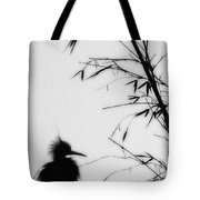 Baby Egret Waits Tote Bag