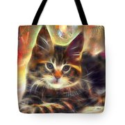 Baby Face - Square Version Tote Bag