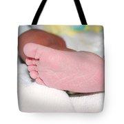 Baby Foot Tote Bag