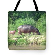 Baby Hippo 1 Tote Bag