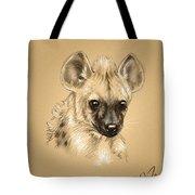 Baby Hyena Tote Bag