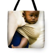 Baby In A Sling Tote Bag