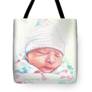 Baby James Tote Bag