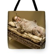 Baby Jesus In Lace Tote Bag