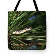 Baby King Snake Tote Bag