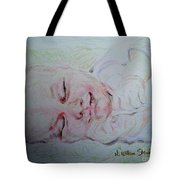 Baby Moses On The River Tote Bag