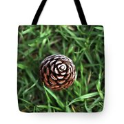 Baby Pine Cone Tote Bag