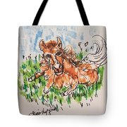Baby Pony Tote Bag
