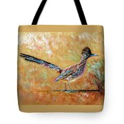 Baby Roadrunner Tote Bag