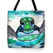 Baby Sea Turtle Tote Bag