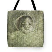 Baby Self Portrait Tote Bag
