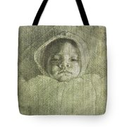 Baby Self Portrait Tote Bag