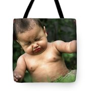Baby Sneeze Tote Bag