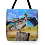 Baby Spreads His Wings Tote Bag