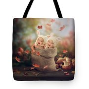 Baby Twins Tote Bag
