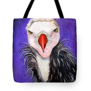 Baby Vulture Tote Bag