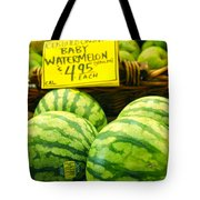 Baby Watermelons Tote Bag