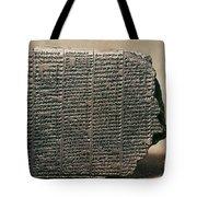 Babylonian Calendar Tote Bag