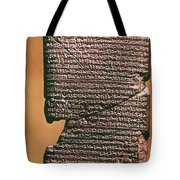 Babylonian Clay Tablet Tote Bag
