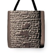 Babylonian Recipies Tote Bag