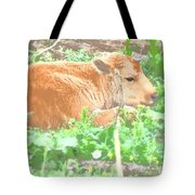 Baby's Home On The Range Tote Bag