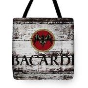 Bacardi Wood Art Tote Bag