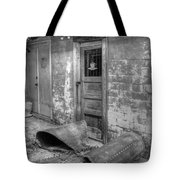 Back Alley Bow Tote Bag