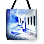 Back Alley Rendezvous Tote Bag