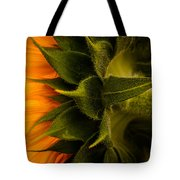 Back Angle Of Sunflower Tote Bag