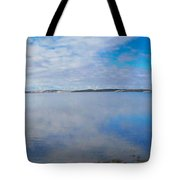 Back Bay Boardwalk Tote Bag