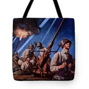 Back 'em Up With More Metal  Tote Bag