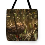 Back In Black Tote Bag by Sean Green