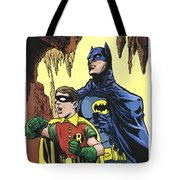 Back In The Batcave Tote Bag