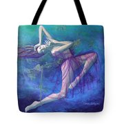Back In Time Tote Bag by Dorina  Costras