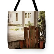 Back In  Porch Time Tote Bag