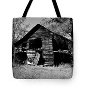 Back On The Farm Black And White Tote Bag