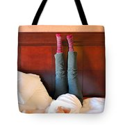 Back Pain. Tote Bag