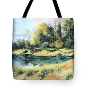 Back River Solitude Tote Bag