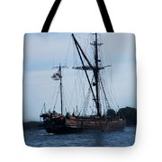 Back Side Pirates Tote Bag