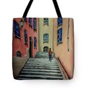 Back Street In France Tote Bag