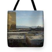 Back Strip Tote Bag