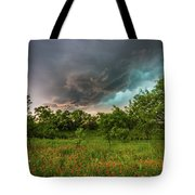 Back To Life - Spring Returns To Western Texas Tote Bag